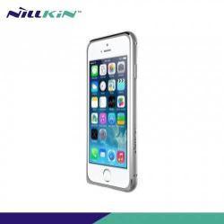 NILLKIN GOTHIC BORDER alumínium védő keret - BUMPER - EZÜST - APPLE iPhone 6 - GYÁRI