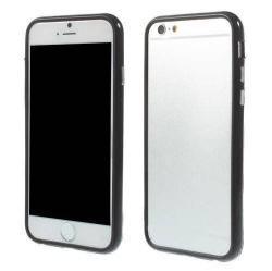 Szilikon védõ keret - BUMPER - FEKETE - APPLE IPhone 6