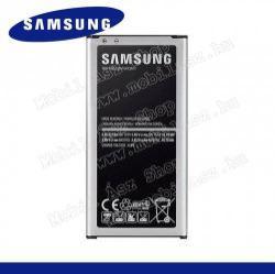 SAMSUNG EB-BG800BBE/CBE akku 2100 mAh - NFC, csak LTE-s készülékhez! - SAMSUNG SM-G800 Galaxy S5 mini - GYÁRI - Csomagolás nélküli