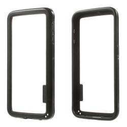 Szilikon védõ keret - BUMPER - FEKETE - SAMSUNG SM-G920 Galaxy S6
