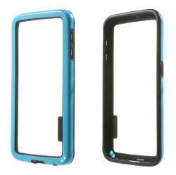 Szilikon védõ keret - BUMPER - KÉK / FEKETE - SAMSUNG SM-G920 Galaxy S6