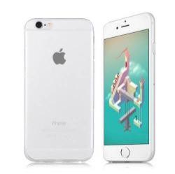 Szilikon védő tok / hátlap - ULTRAVÉKONY! 0,8mm - ÁTLÁTSZÓ - APPLE iPhone 6