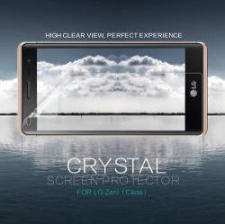 NILLKIN képernyővédő fólia - CRYSTAL Clear - 1db, törlőkendővel - LG Zero / LG Class (F620 / H740) - GYÁRI