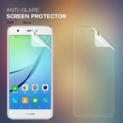 NILLKIN képernyővédő fólia - Anti Glare - 1db, törlőkendővel - HUAWEI nova - GYÁRI