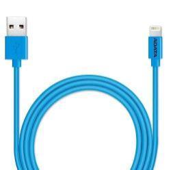 ADATA Apple Lightning adatátvitel adatkábel és töltő 1M hosszú, MFI engedélyes - KÉK - Gyári
