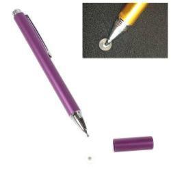 Érintőképernyő ceruza - kapacitív kijelzőhöz, KÉZÍRÁSRA, RAJZOLÁSRA IS ALKALMAS - LILA