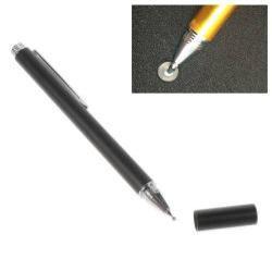 Érintõképernyõ ceruza - kapacitív kijelzõhöz, KÉZÍRÁSRA, RAJZOLÁSRA IS ALKALMAS - FEKETE