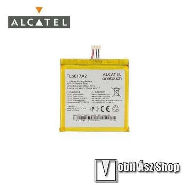 ALCATEL OT-6012D Idol MiniALCATEL OT-6012D Idol Mini akku 1700 mAh LI-ION - GYÁRI - Csomagolás nélküli
