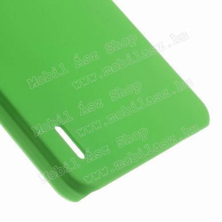 Műanyag védő tok / hátlap - Hybrid Protector - ZÖLD - HUAWEI Honor 6 Plus