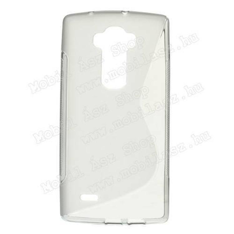 LG G Flex 2 (F510L / H950 / H955 / LS996)Szilikon védő tok  hátlap - FÉNYES  MATT - SZÜRKE - LG G Flex 2 (F510L  H950  H955  LS996)