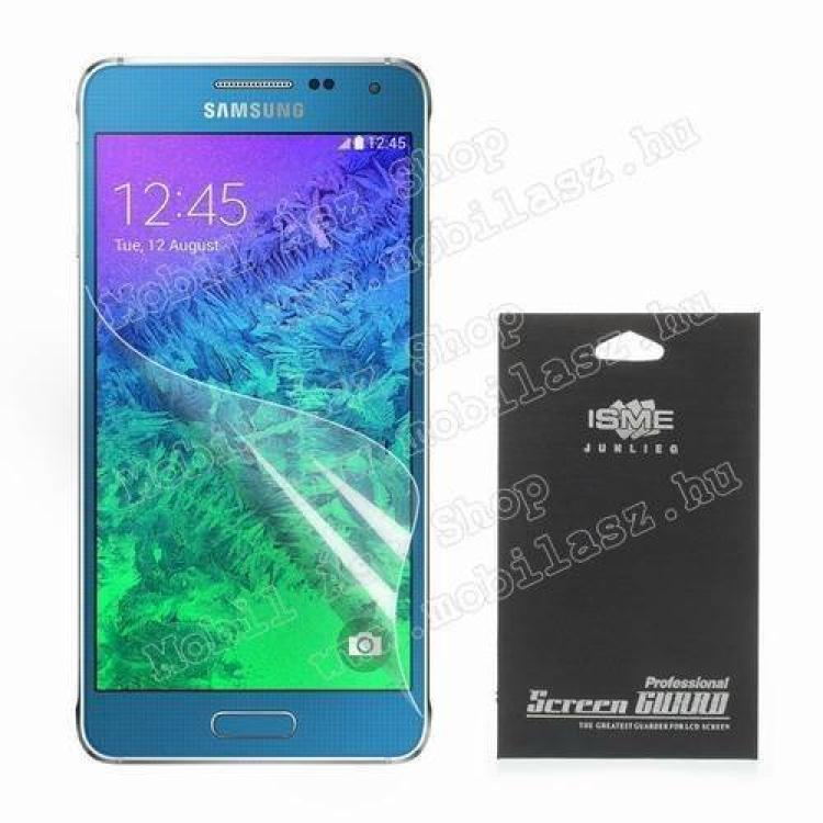 SAMSUNG Galaxy A7 (SM-A700F)Képernyővédő fólia - Ultra Clear - 1db, törlőkendővel - SAMSUNG SM-A700F Galaxy A7