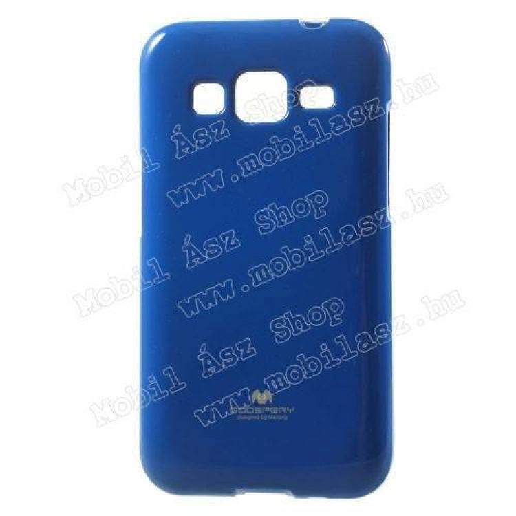 SAMSUNG Galaxy Core Prime (SM-G360F)MERCURY szilikon védő tok  hátlap - SÖTÉTKÉK - SAMSUNG SM-G360F Galaxy Core Prime