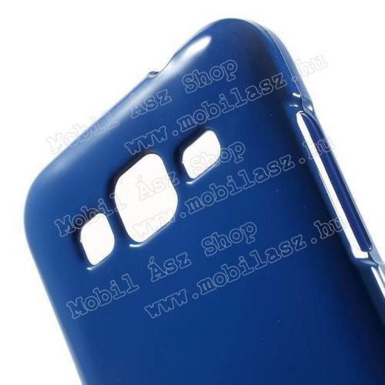 MERCURY szilikon védő tok / hátlap - SÖTÉTKÉK - SAMSUNG SM-G360F Galaxy Core Prime