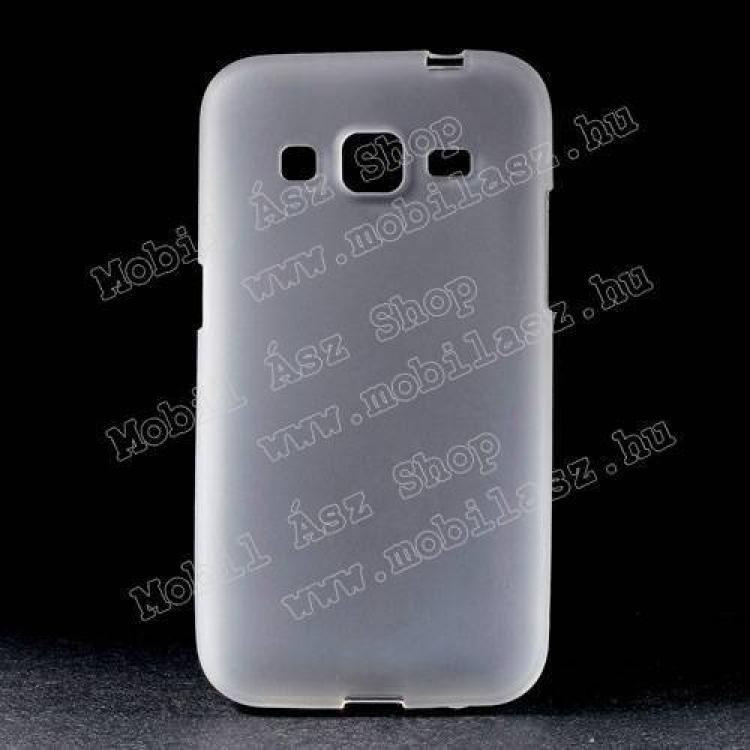 SAMSUNG Galaxy Core Prime (SM-G360F)Szilikon védő tok  hátlap - FLEXI - FEHÉR - SAMSUNG SM-G360F Galaxy Core Prime