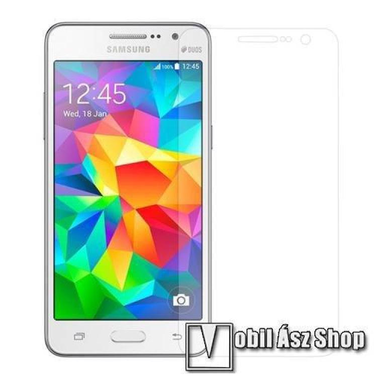 SAMSUNG Galaxy Grand Prime Plus (SM-G532F)Előlap védő karcálló edzett üveg - 0.3mm vékony!, 9H, A képernyő sík részét védi - SAMSUNG SM-G530F Galaxy Grand Prime
