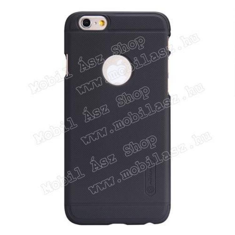 APPLE iPhone 6sNILLKIN SUPER FROSTED műanyag védő tok  hátlap - érdes felület - FEKETE - APPLE iPhone 6