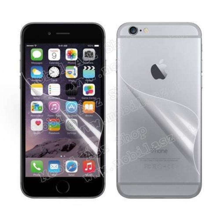 APPLE iPhone 6sKépernyővédő fólia - Első és hátsó is! - Clear - 1db, törlőkendővel - APPLE iPhone 6