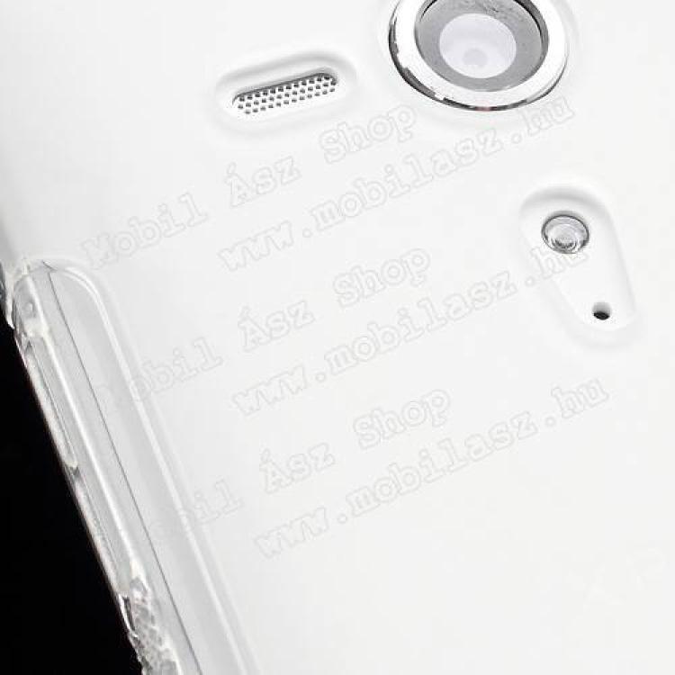 EXKLUZÍV telefonvédő gumi / szilikon tok (FÉNYES/MATT) - ÁTLÁTSZÓ - SONY Xperia SP (C5303)