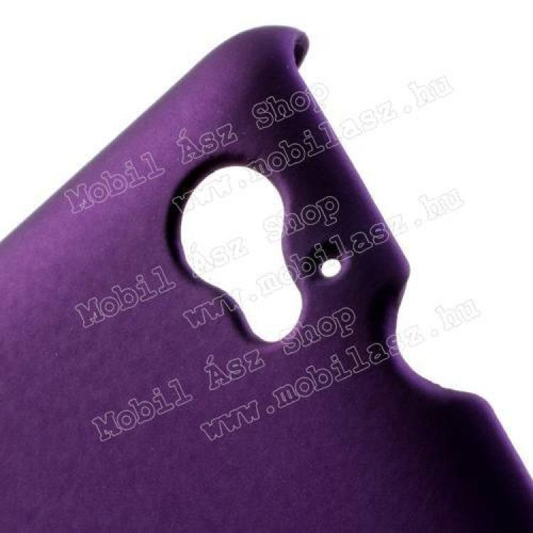 Műanyag védő tok / hátlap - Hybrid Protector - SONY Xperia M (C1905) - LILA