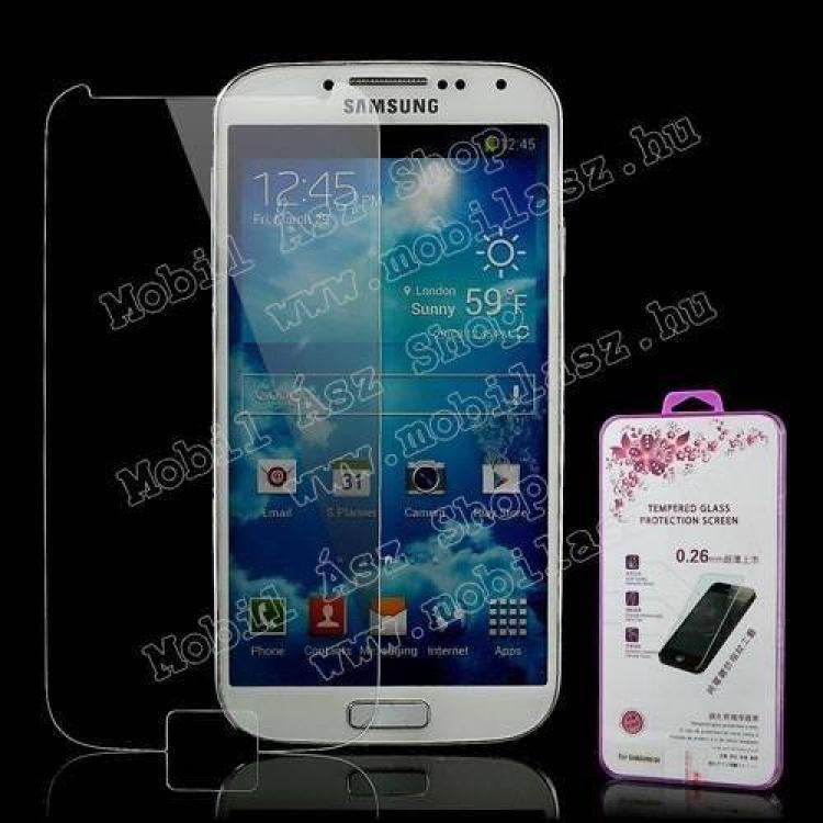 SAMSUNG Galaxy S IV. VE (GT-I9515)Előlap védő karcálló üveg - SAMSUNG GT-I9500  I9502  I9505 Galaxy S IV.