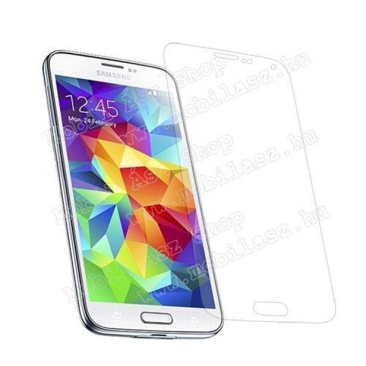 SAMSUNG Galaxy S5 Neo (SM-G903F)Képernyővédő fólia - Clear - 1db, törlőkendővel - SAMSUNG SM-G900F Galaxy S5