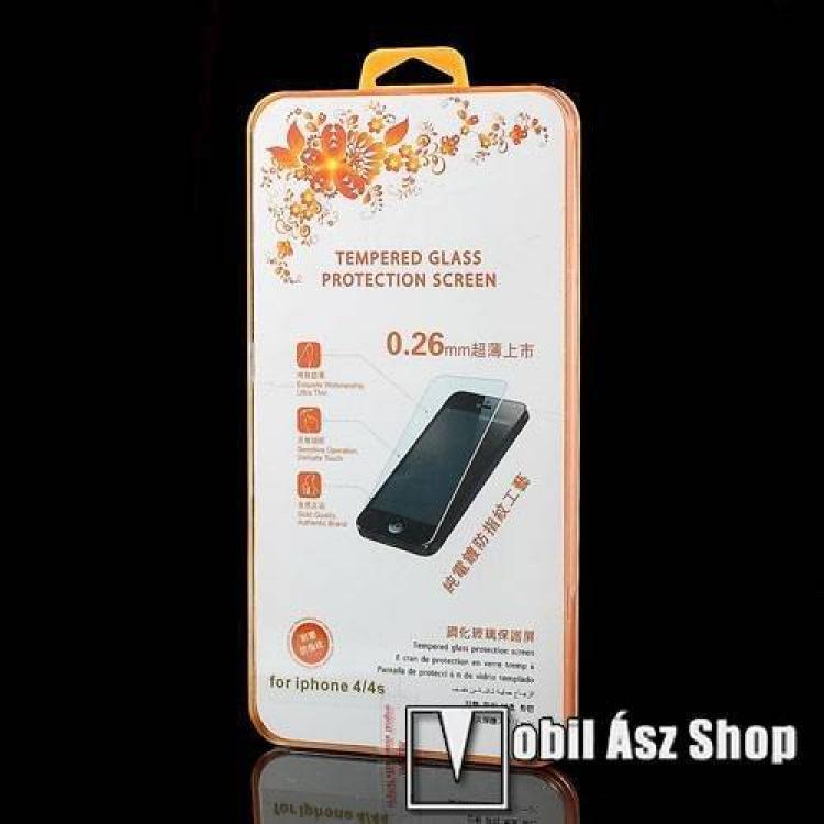 Előlap védő karcálló üveg - APPLE IPhone 4/APPLE IPhone 4S