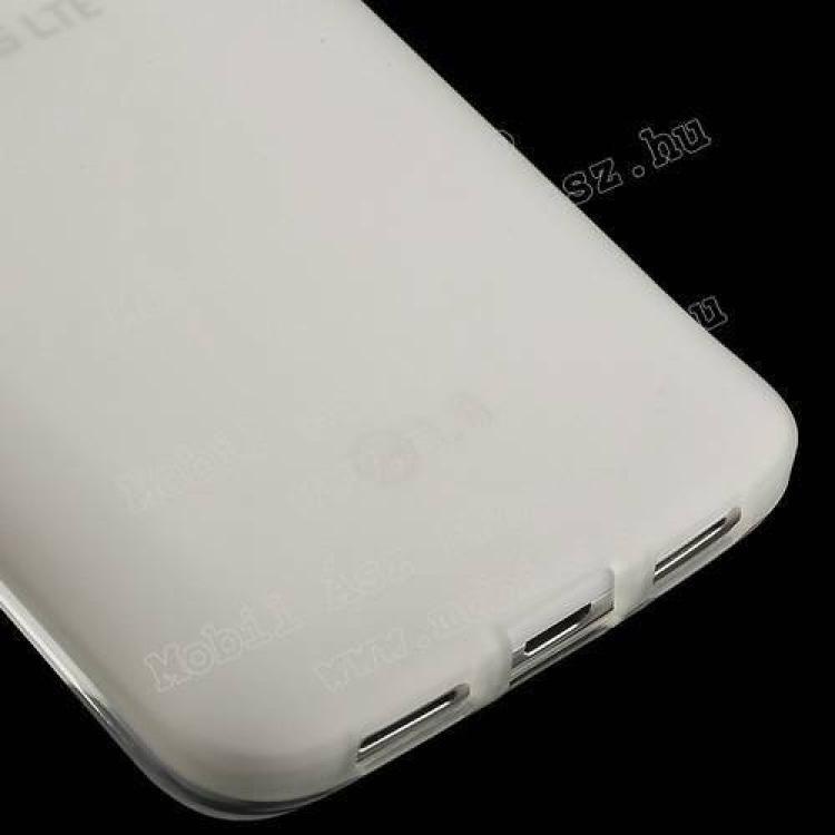 Szilikon védő tok / hátlap - FLEXI - FEHÉR - LG G2 mini / LG D620 G2 mini LTE