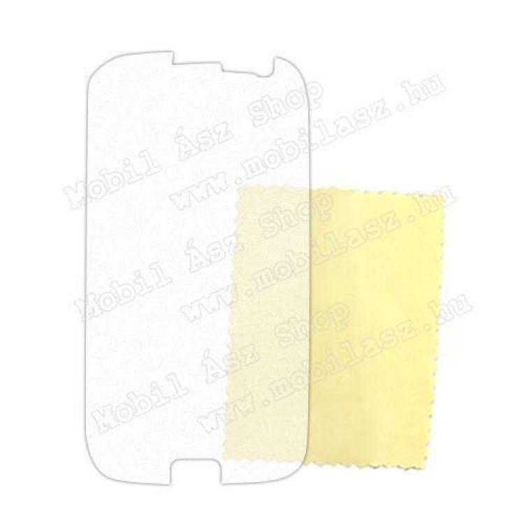 Képernyővédő fólia - Anti-glare - MATT! - 1db, törlőkendővel - SAMSUNG GT-I9300 Galaxy S III.
