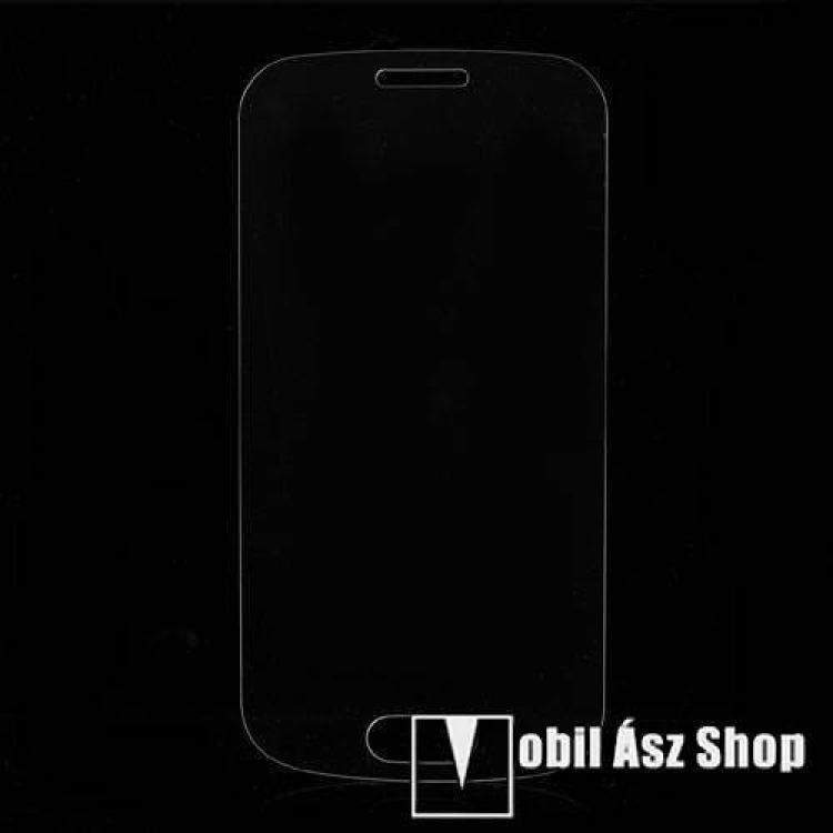 ARMOR előlap védő karcálló edzett üveg, 9H, A képernyő sík részét védi - SAMSUNG GT-S7560 Galaxy Trend / SAMSUNG GT-S7562 Galaxy S Duos / SAMSUNG GT-S758 Galaxy Trend Plus / SAMSUNG GT-S7582 Galaxy Trend Plus Duos