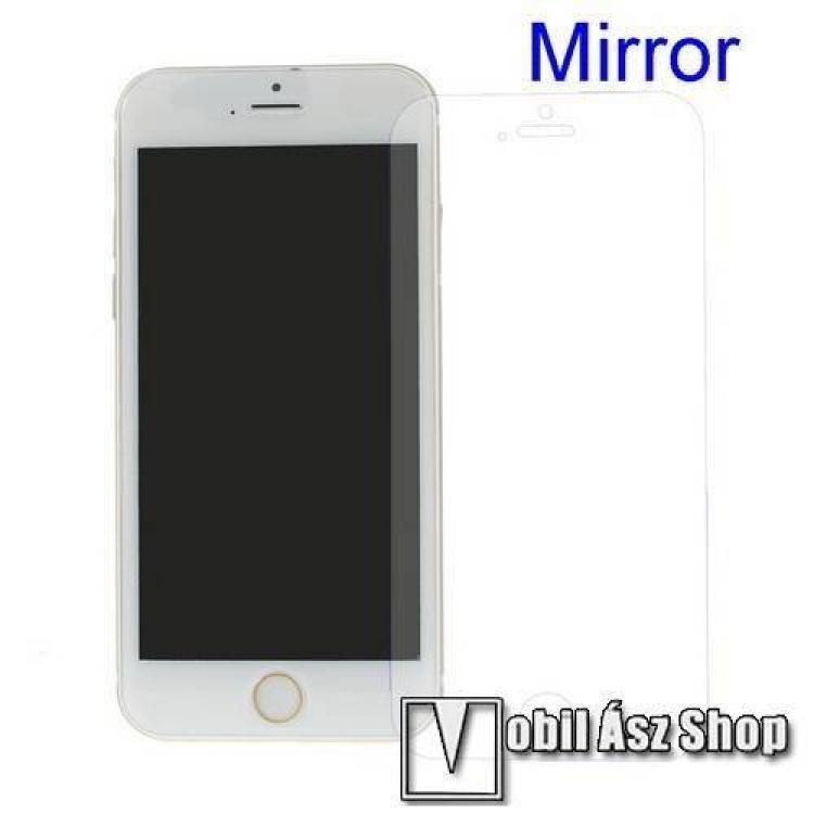 APPLE iPhone SE (2020)Képernyővédő fólia - Tükrös felületű - 1db, törlőkendővel - APPLE iPhone SE (2020)  APPLE iPhone 7  APPLE iPhone 8  APPLE iPhone 6  APPLE iPhone 6S