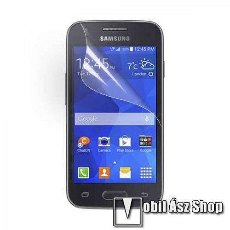 SAMSUNG Galaxy Ace Style (SM-G310)Képernyővédő fólia - Clear - 1db, törlőkendővel - SAMSUNG SM-G310 Galaxy Ace Style