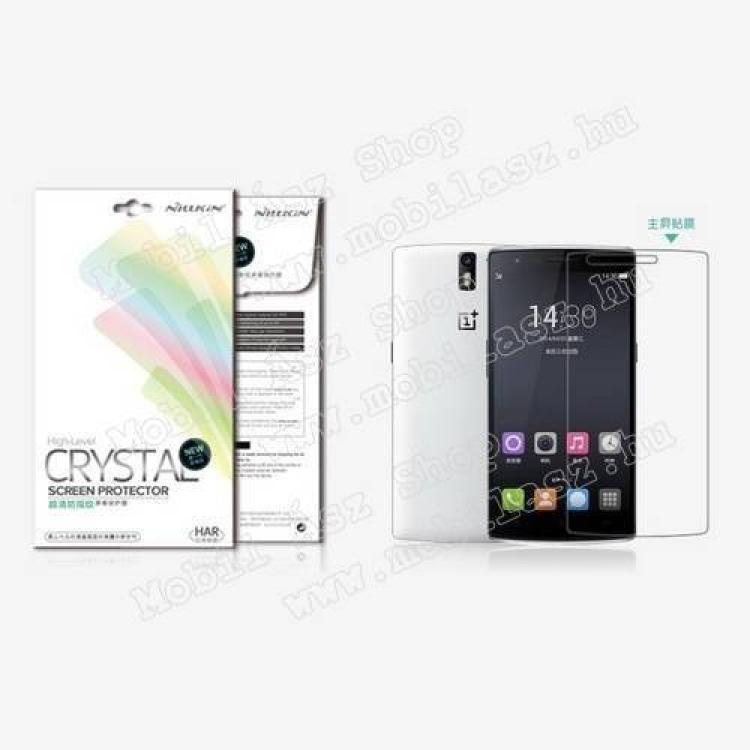 Oneplus One A0001NILLKIN képernyővédő fólia - CYSTAL CLEAR - 1db, törlőkendővel - Oneplus One A0001