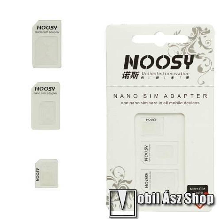 MOTOROLA Moto G50 5GUNIVERZÁLIS SIM adapter - Nano SIM kártyát Micro SIM és normál méretű kártyára alakítja át, SIM tűvel együtt