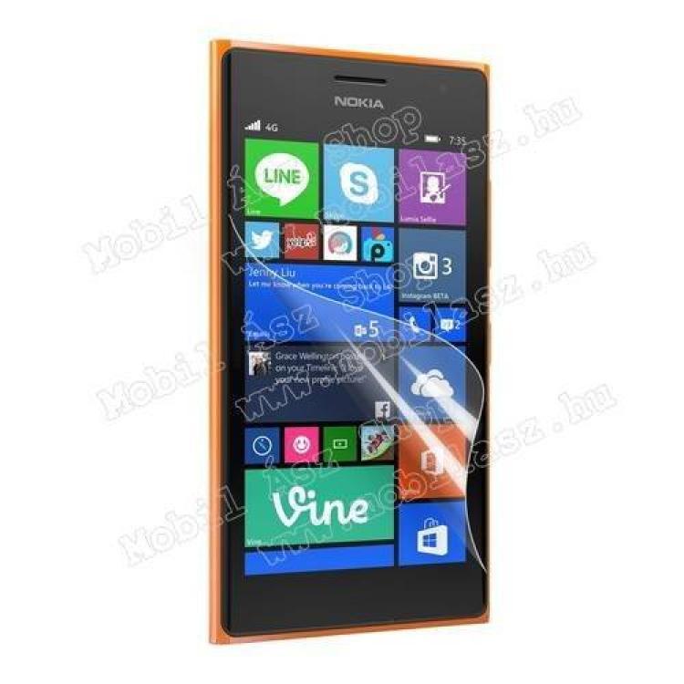 NOKIA Lumia 730 DUAL SIMKépernyővédő fólia - Clear - 1db, törlőkendővel - NOKIA Lumia 730 DUAL SIM