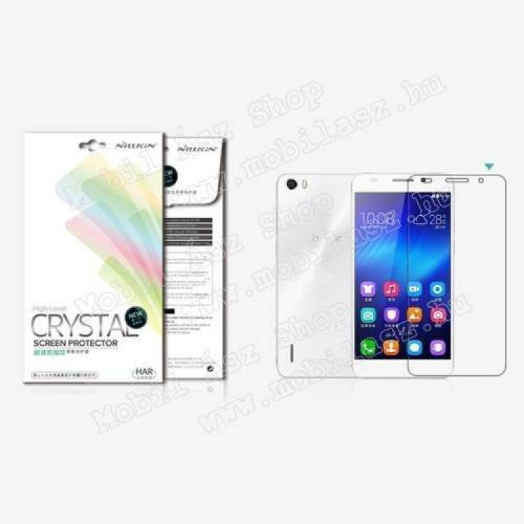 HUAWEI Honor 6NILLKIN képernyővédő fólia - CYSTAL CLEAR - 1db, törlőkendővel - HUAWEI Honor 6