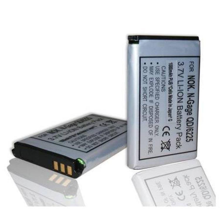 NOKIA E70Akku NOKIA BL-6C kompatibilis 1100 mAh LI-ION