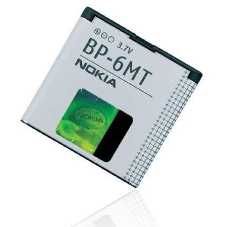 NOKIA 6720 ClassicNOKIA akku 1050 mAh LI-ION - BP-6MT - GYÁRI - Csomagolás nélküli