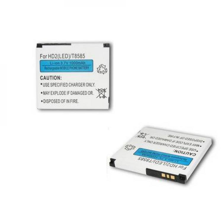 HTC HD 2Akku 1000 mAh LI-ION (HTC BA S400 kompatibilis)
