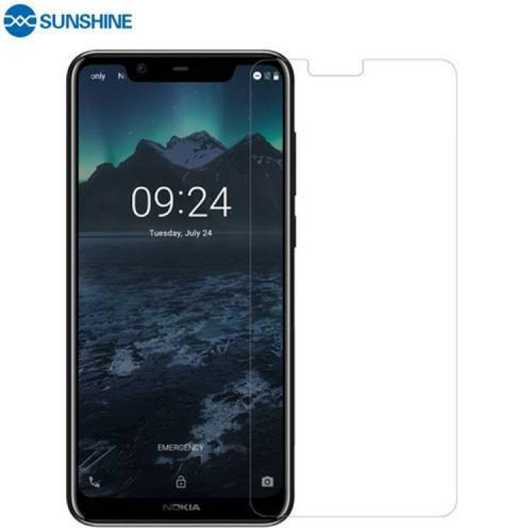 NOKIA 5.1 Plus (2018)SUNSHINE Hydrogel TPU képernyővédő fólia - Ultra Clear, ÖNREGENERÁLÓ! - 1db, a teljes képernyőt védi - NOKIA 5.1 Plus - GYÁRI