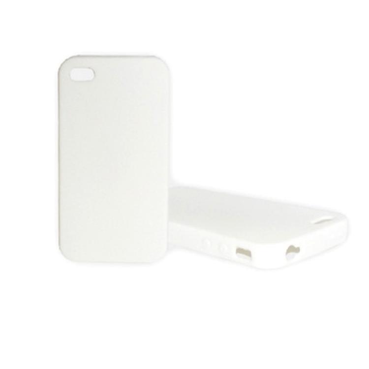 APPLE IPhone 4STelefonvédő gumi  szilikon tok FEHÉR - APPLE IPhone 4APPLE IPhone 4S