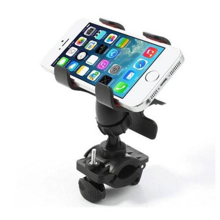 MOTOROLA Moto G50 5GUNIVERZÁLIS telefon tartó kerékpárra  biciklire  - 360°-ban forgatható, kormányra rögzíthető, csipeszes tartó rész