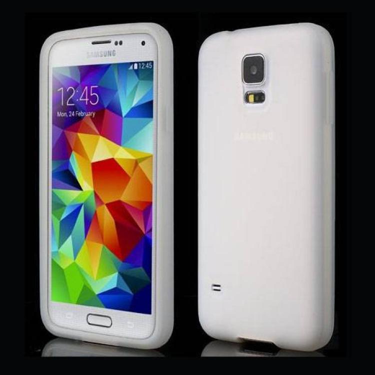 SAMSUNG Galaxy S5 Neo (SM-G903F)Szilikon védő tok  hátlap - ÁTLÁTSZÓ - SAMSUNG SM-G900F Galaxy S5