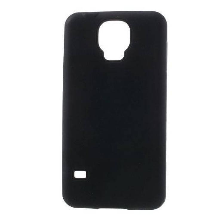 SAMSUNG Galaxy S5 Neo (SM-G903F)Szilikon védő tok  hátlap - FEKETE - SAMSUNG SM-G900F Galaxy S5