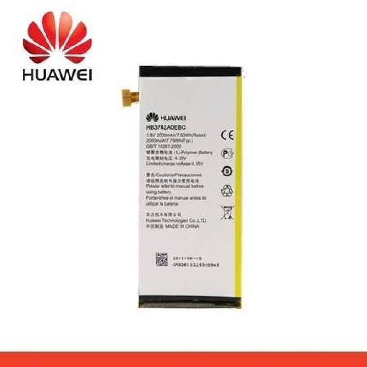 Huawei Ascend P6Akku 2050 mAh LI-ION - HB3742A0EBC - HUAWEI Ascend P6 - GYÁRI - Csomagolás nélküli