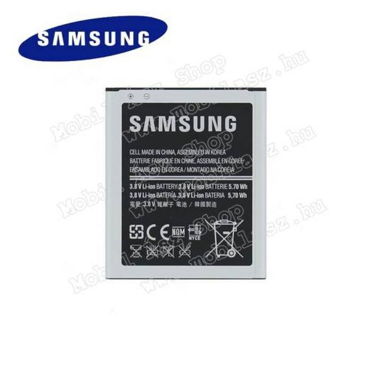 SAMSUNG Galaxy Trend Lite (GT-S7390)SAMSUNG EB-B100AEBE akku 1500 mAh LI-ION - LTE változathoz NEM jó! - SAMSUNG GT-S7270 Galaxy Ace 3 3G  SAMSUNG GT-S7272 Galaxy Ace 3 DUOS  SAMSUNG GT-S7390 Galaxy Trend Lite - GYÁRI - Csomagolás nélküli
