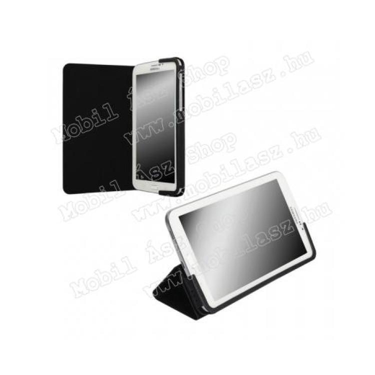 SAMSUNG Galaxy Tab 4 7.0 3G (SM-T231)KRUSELL MALMÖ FLIP bőrtok - oldalra nyíló, asztali tartó funkciós - 71367 - FEKETE - SAMSUNG SM-T231 Galaxy Tab 4 7.0 3G - GYÁRI