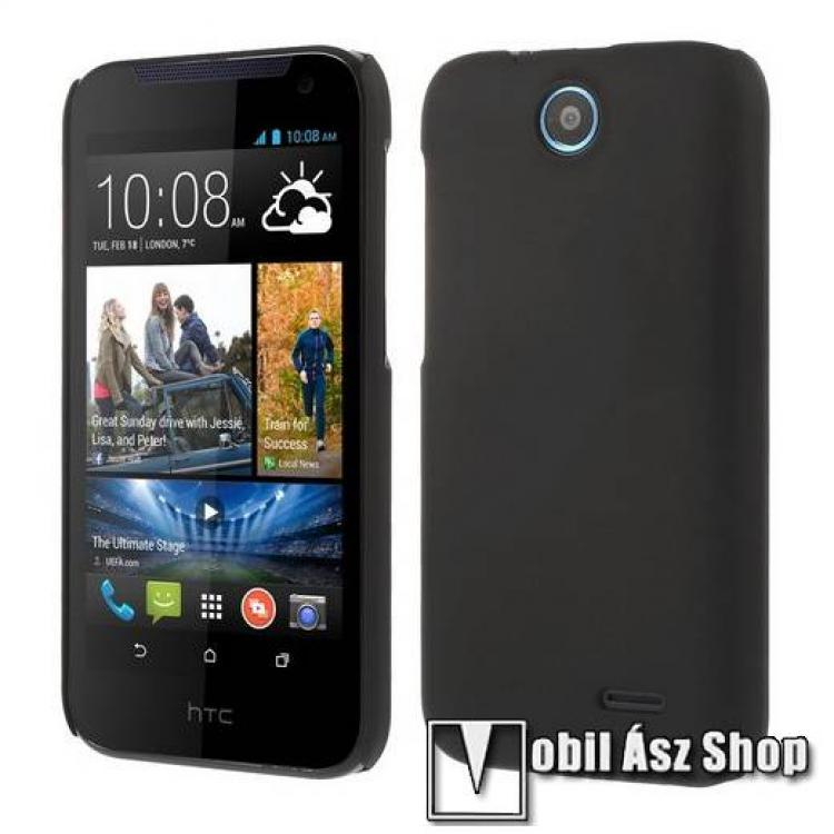 HTC Desire 310Műanyag védő tok  hátlap - Hybrid Protector - FEKETE - HTC Desire 310