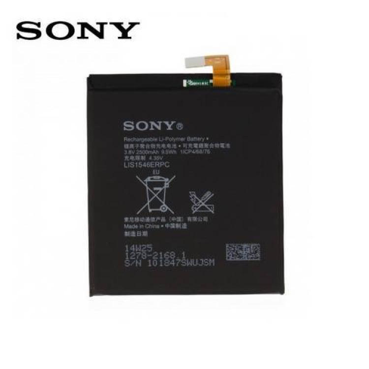 SONY Xperia Style - T3 (D5103)SONY akku 2500 mAh LI-ION - 1278-2168  LIS1546ERPC - SONY Xperia C3 (D2533)  SONY Xperia T3 (D5102  D5103  D5105) - GYÁRI - Csomagolás nélküli