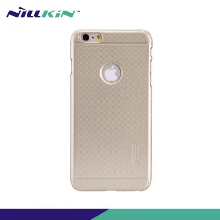APPLE iPhone 6s PlusNILLKIN műanyag védő tok  hátlap - képernyővédő fólia - ARANY - APPLE iPhone 6 Plus