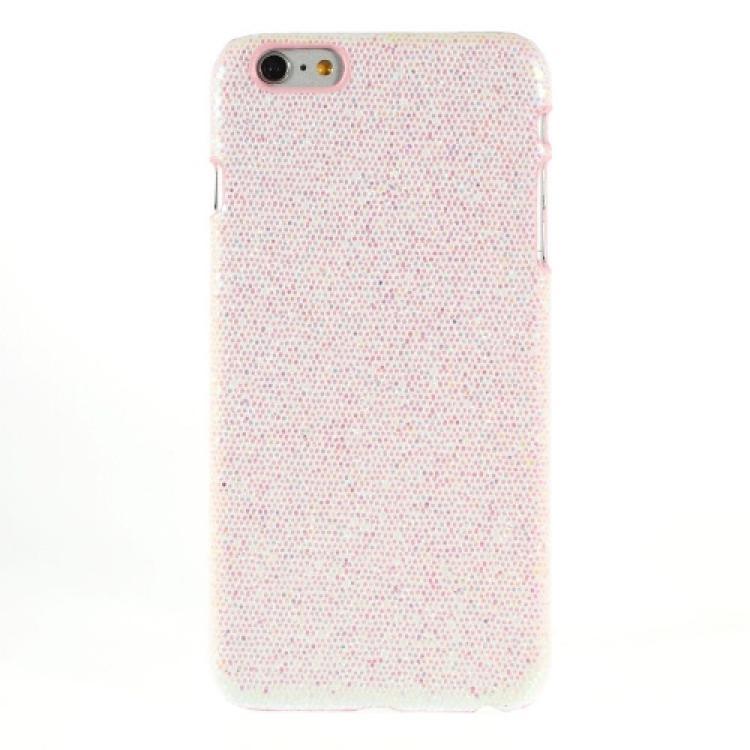 APPLE iPhone 6s PlusMűanyag védő tok  hátlap - csillogó, flitteres - FEHÉR - APPLE iPhone 6 Plus